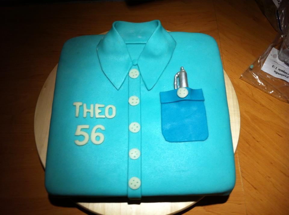 Taart Theo 56 jaar.