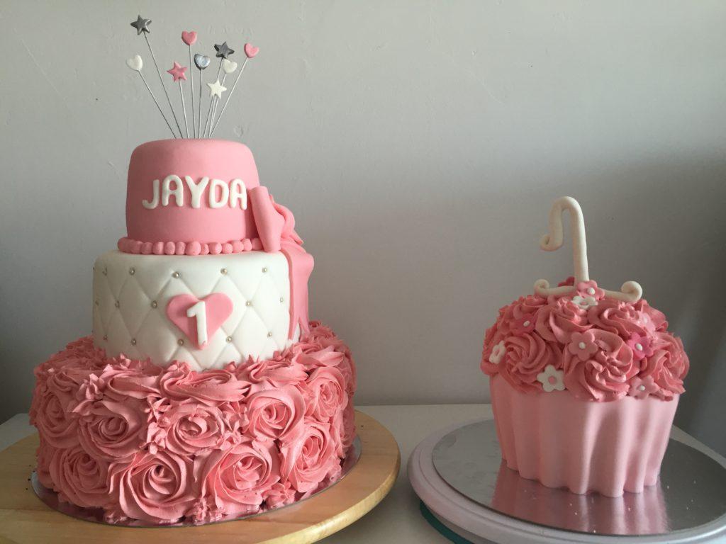 taart maken voor 1e verjaardag Taart Jayda | Anna's taarten taart maken voor 1e verjaardag